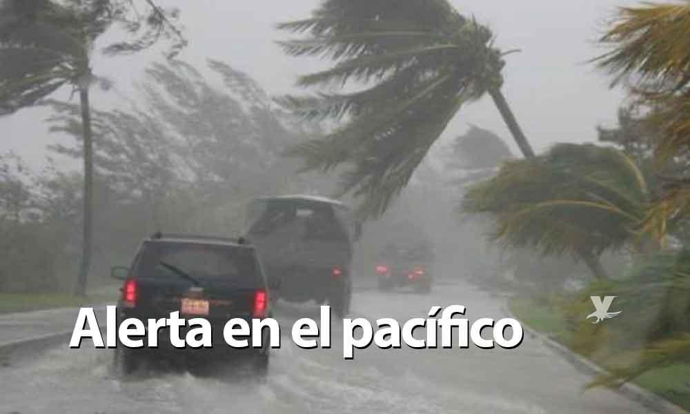 Se formó la Depresión Tropical 22-E en el Océano Pacífico