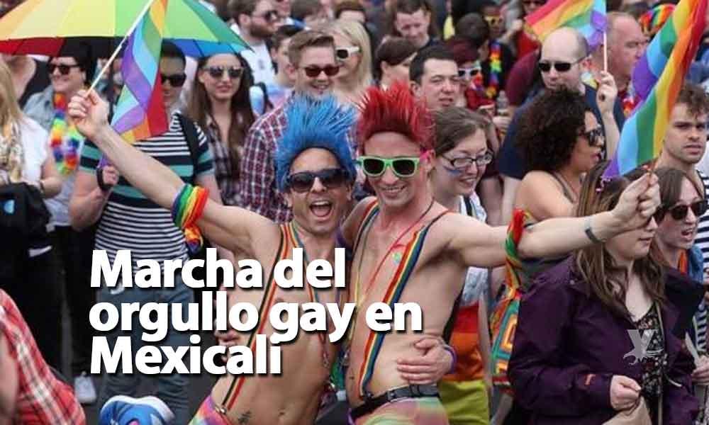 Realizarán marcha del orgullo gay en Mexicali