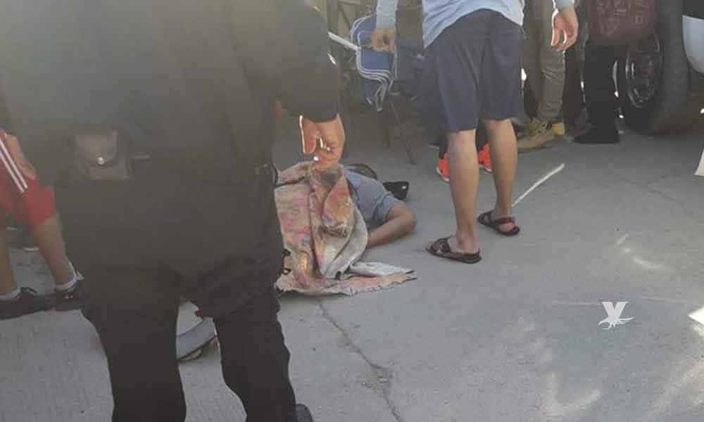 Atacan a balazos a hombre en pleno sobre ruedas en Tijuana