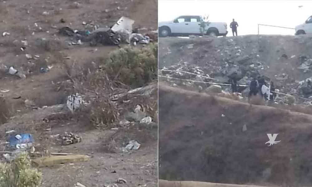 Localizan cuerpo desmembrado en Villa del Campo