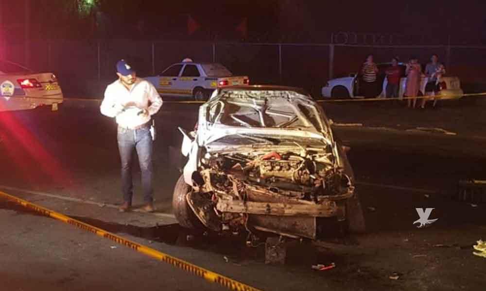 Joven muere tras fatal choque en Mexicali