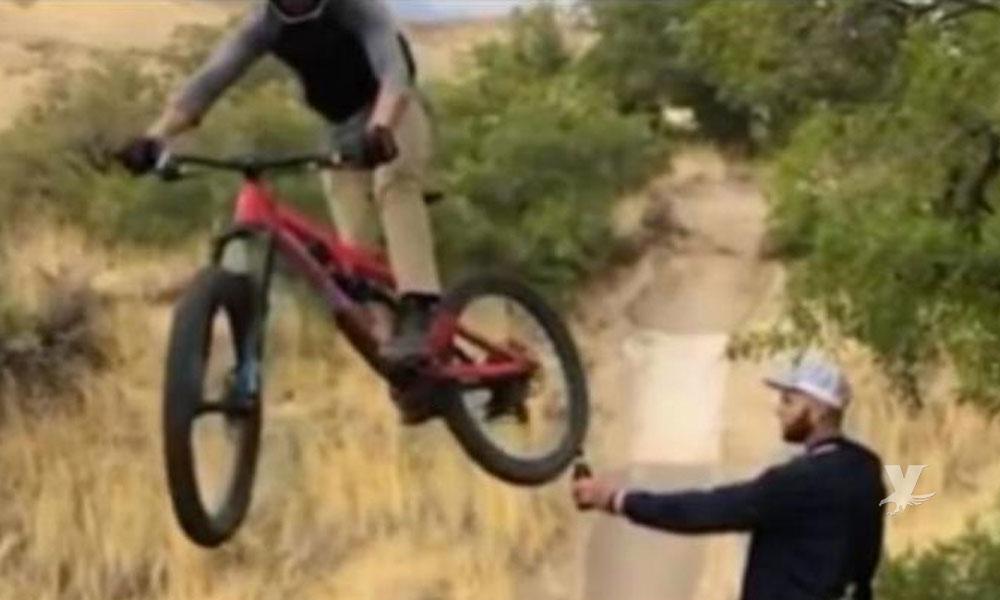 """Si te envían un video de """"una bici y una botella"""" ¡No lo abras!"""