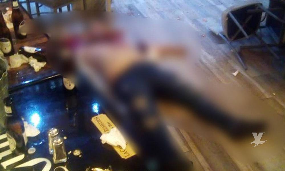 """(VIDEO) Pelea en bar """"Los Remedios"""" de Mexicali deja una persona muerta por arma de fuego"""