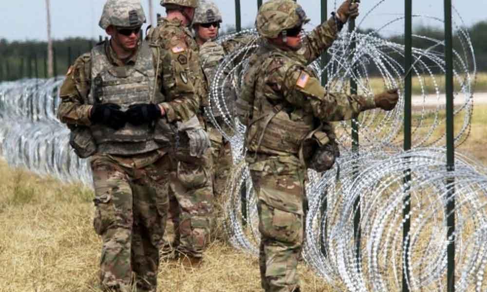 Escriben carta a Fuerzas Armadas que vigilan la frontera de la Caravana Migrante