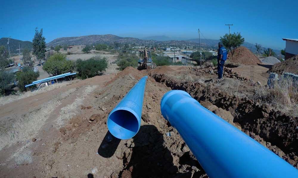 Fortalece Gobierno del Estado sistema de suministro de agua con reposición de línea de conducción en Tecate