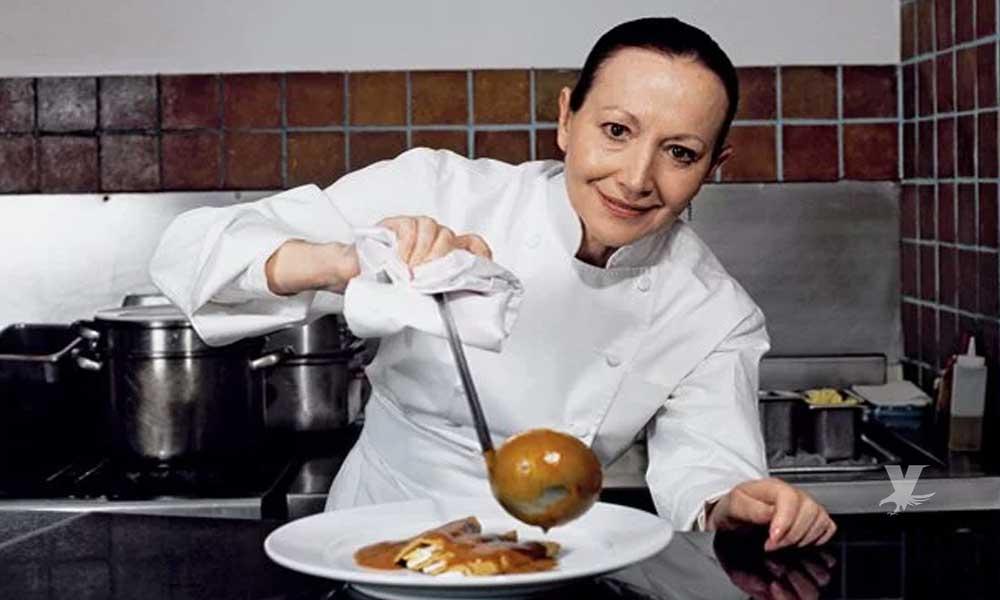 Muere la reconocida chef mexicana Patricia Quintana
