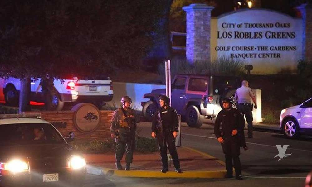 Tiroteo en bar de California deja 1 policía y 11 civiles muertos