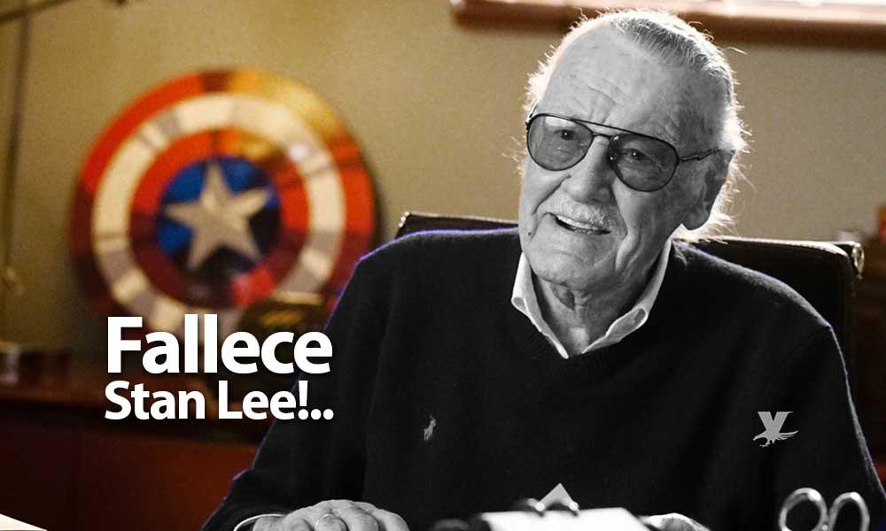Fallece a los 95 años, Stan Lee, la leyenda de los cómics