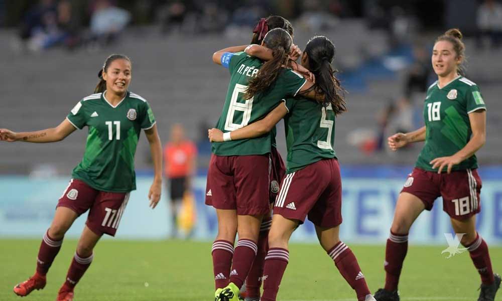Selección Femenil Sub 17 avanza a la final en Uruguay al vencer a Canadá
