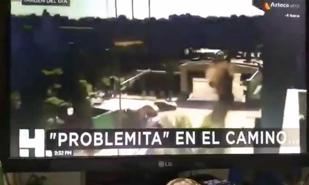 Bochornoso error, programa de TV Azteca confunde escena de 'Avengers' con un accidente real (VIDEO)
