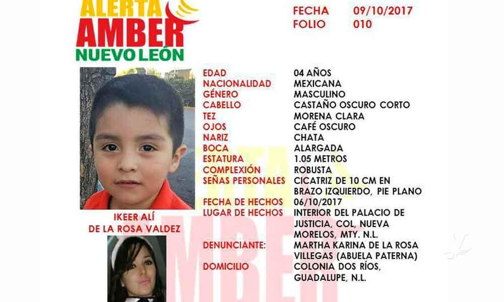 Rescatan a Ikeer en Coahuila, niño desaparecido desde hace un año en Nuevo León