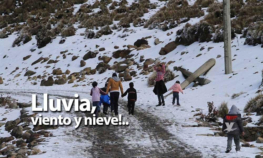 LLuvia, viento y nieve para las montañas este jueves en Baja California