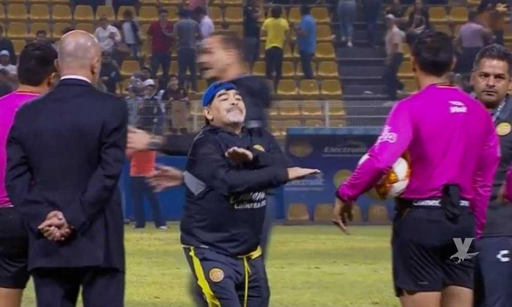 Suspenden a Maradona y se perderá el juego de vuelta en Zacatecas