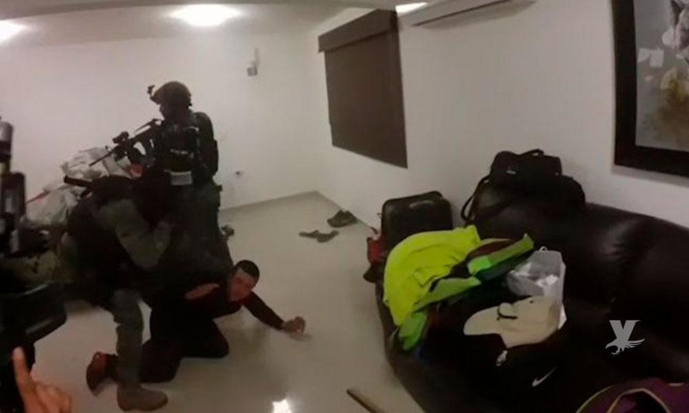 """Marina Armada muestra fotografías inéditas del día que fue capturado Joaquín """"Chapo"""" Guzmán"""
