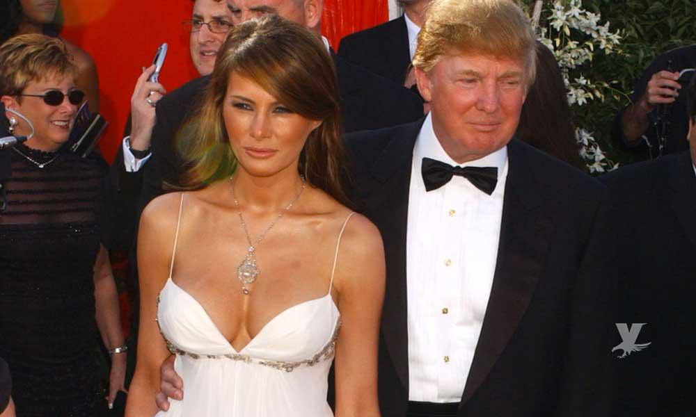 Sale a la luz foto de Melania Trump antes de ser Primera Dama ¡completamente desnuda!