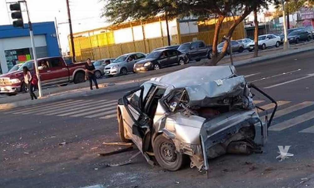 En Mexicali niño de 9 años muere prensado en terrible accidente