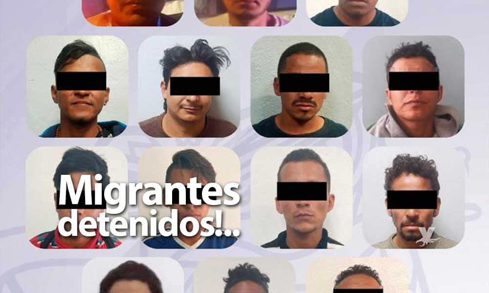 Detenidos 34 migrantes por posesión de droga y disturbios en Tijuana, serán deportados