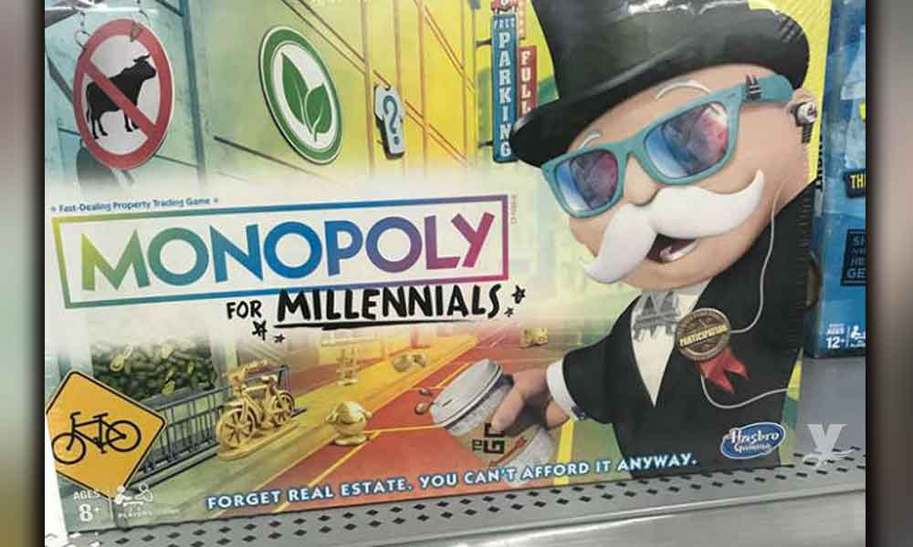 Monopoly lanza juego para millennials