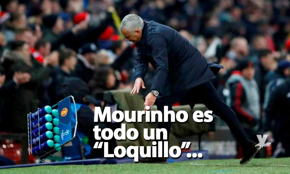 (VIDEO) José Mourinho celebra gol de último minuto en la Champions de manera muy extraña