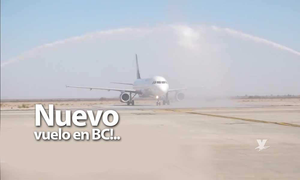 Inaugura Volaris nuevo vuelo Mexicali – El Bajío