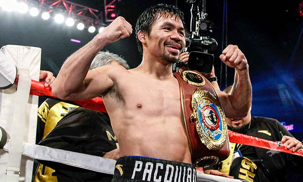 """Manny """"Pacman"""" Pacquiao regresa a los cuadriláteros el próximo 19 de enero"""