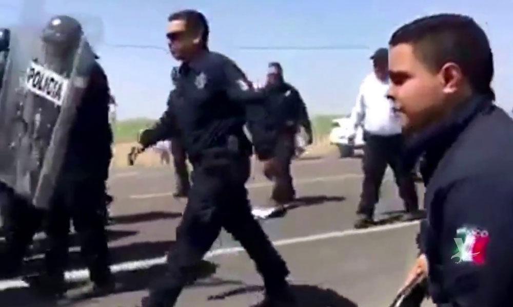 Pelea entre Policías Municipales deja a un oficial gravemente herido