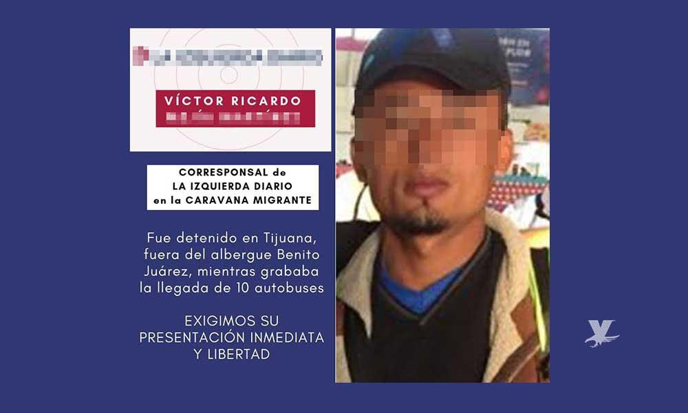 Detienen a periodista ebrio por disturbios en refugio de migrantes en Tijuana