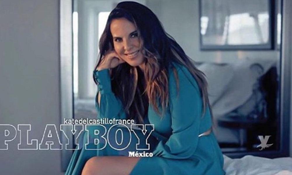Kate del Castillo posa totalmente desnuda para Playboy México