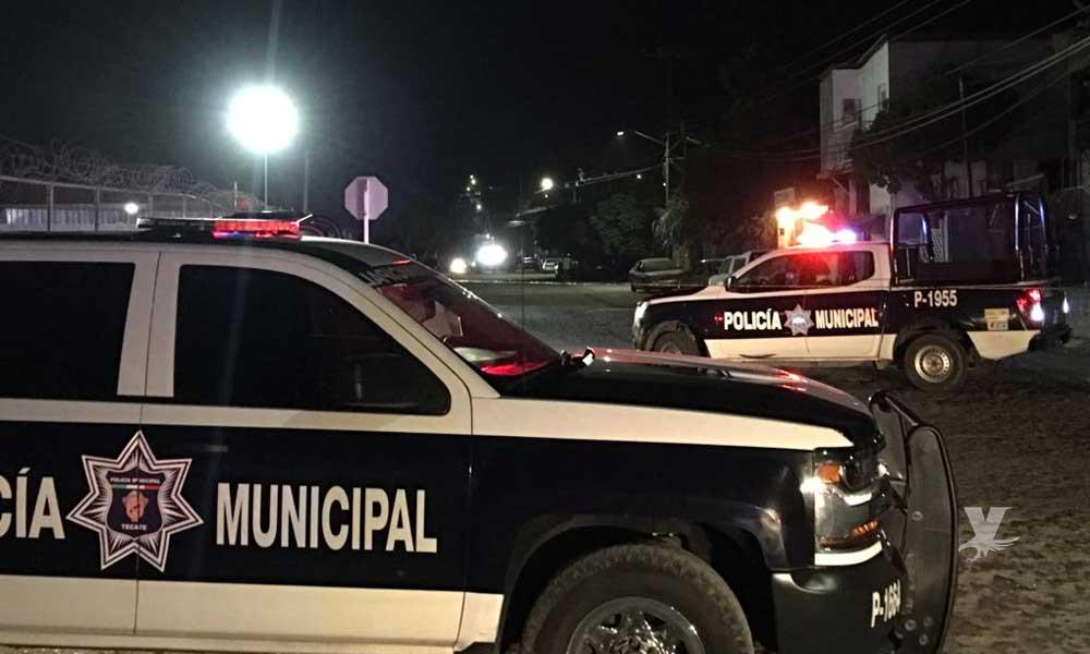 Hombre es detenido en increíble persecución policial en Tecate