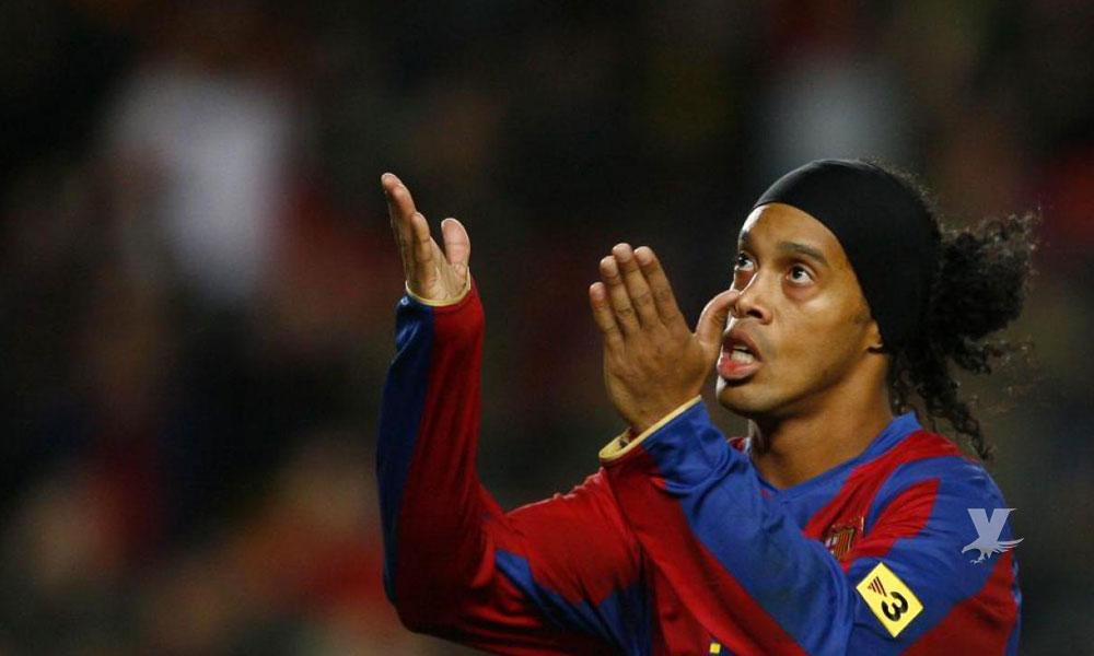 Ronaldinho se encuentra en bancarrota, su cuenta de banco sólo es de 6 euros