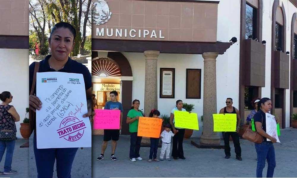 """Alcaldesa debe cumplir sus promesas de campaña"": Marina Calderón"