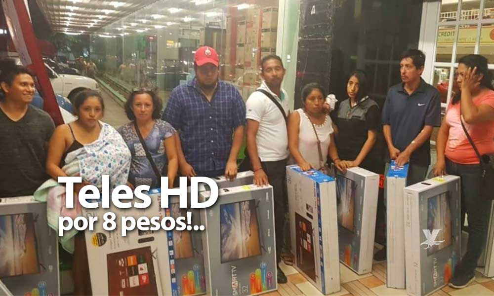 Venden televisores HD en 8 pesos por error ortográfico en el precio, ¡En oferta del Buen Fin!