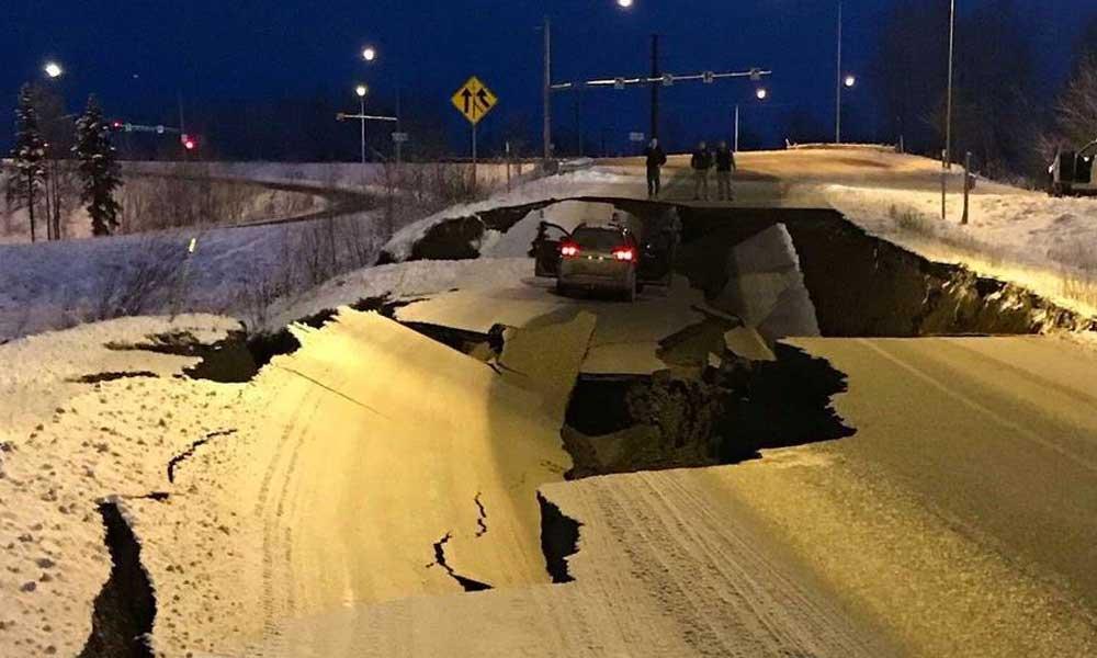 (VIDEO) Terremoto de 7 grados sacude a Alaska dejando grandes daños