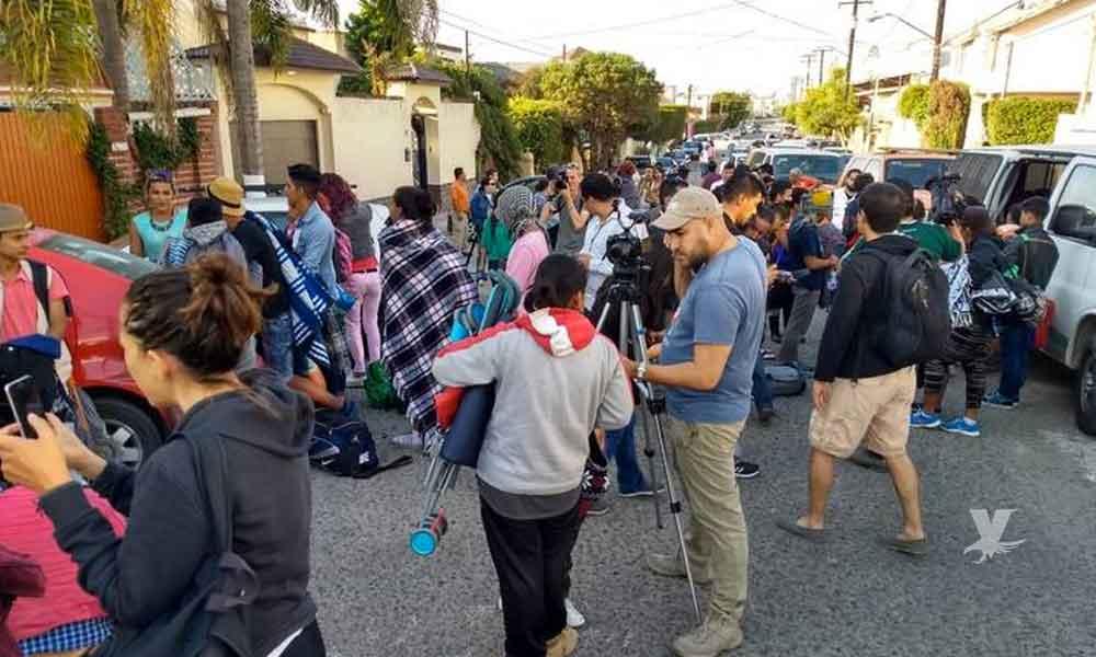 Vecinos de Playas de Tijuana rechazan a migrantes de la comunidad LGTB