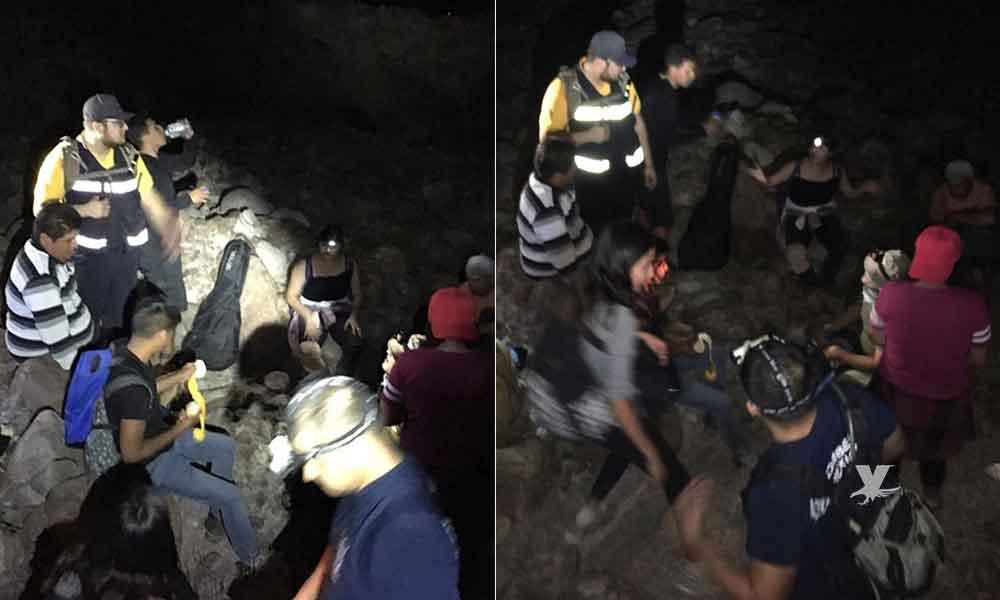Rescatan a 12 personas extraviadas en el Cerro Centinela