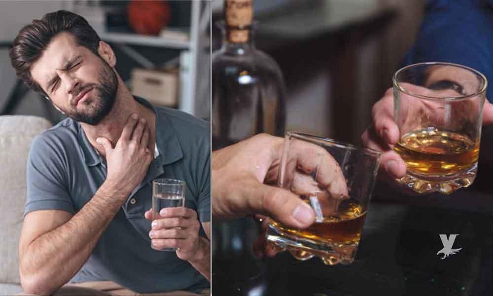 ¿Tienes dolor de garganta? ¡Combátelo con whisky!