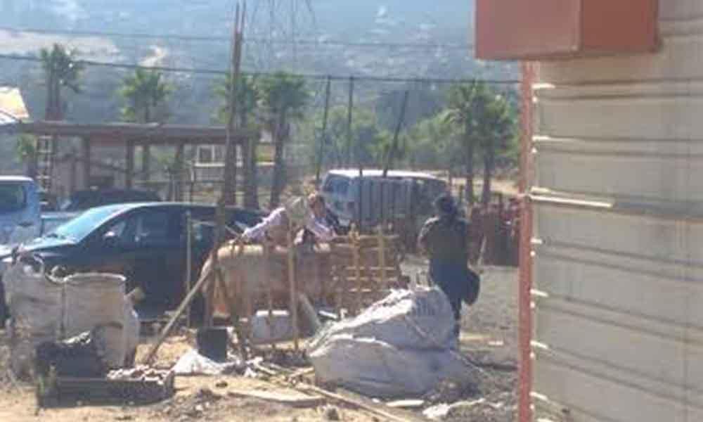Clausuran otra tarimera en Tecate; operaba ilegalmente la marca de tratamiento térmico