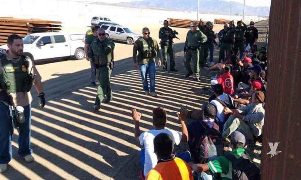 Migrantes capturados al intentar cruzar a EU serán deportados a su país