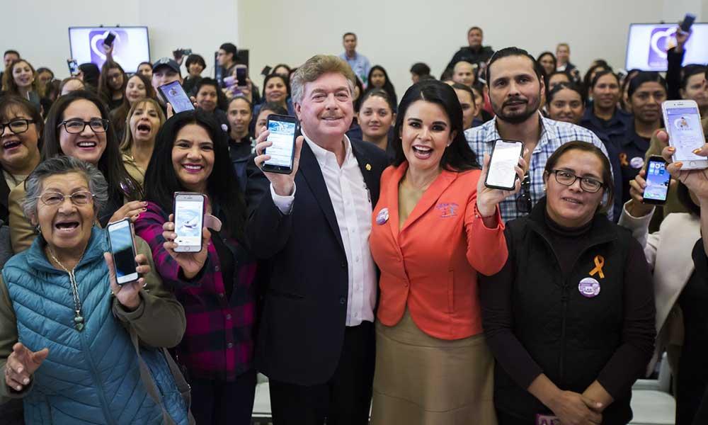 Baja California el primer Estado en México en contar con una aplicación móvil para la protección institucional de las mujeres