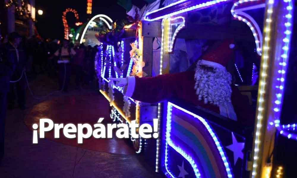 ¡Prepárate! Ya viene el tradicional desfile de las luces de Tecate