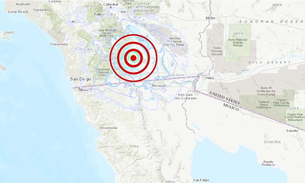Sismo de 3.9 al sur de California sacude a la región