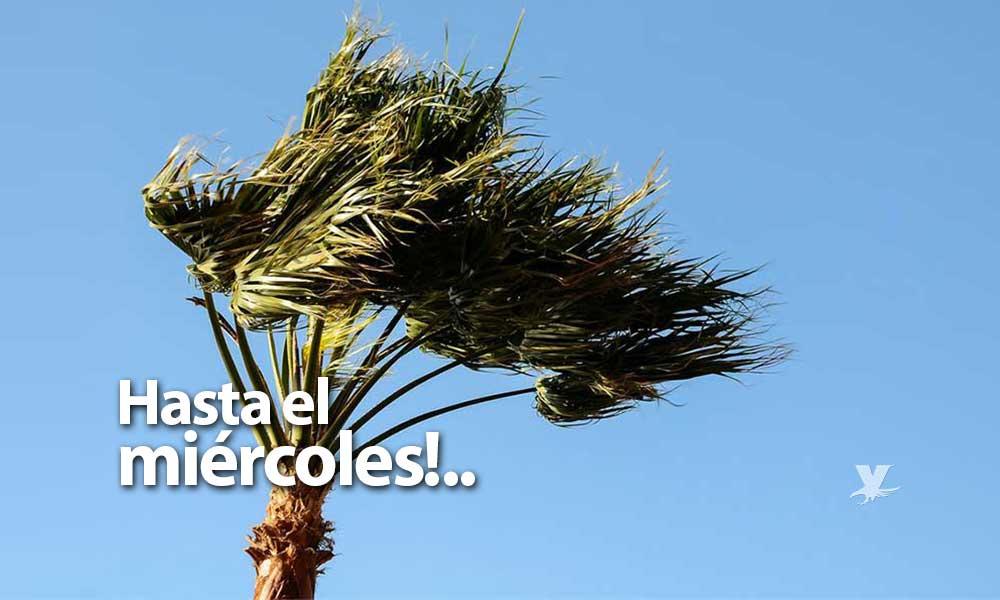 Habrá condición Santa Ana hasta el miércoles 14 de noviembre en la región