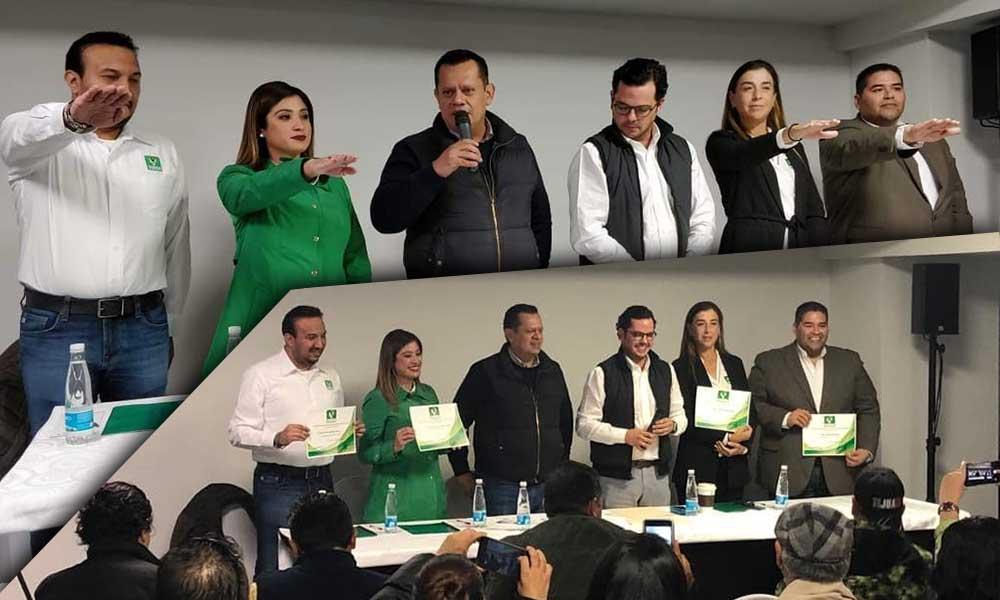 Toma protesta Diana Vázquez como Dirigente Municipal del Partido Verde Ecologista de México (PVEM) en Tecate