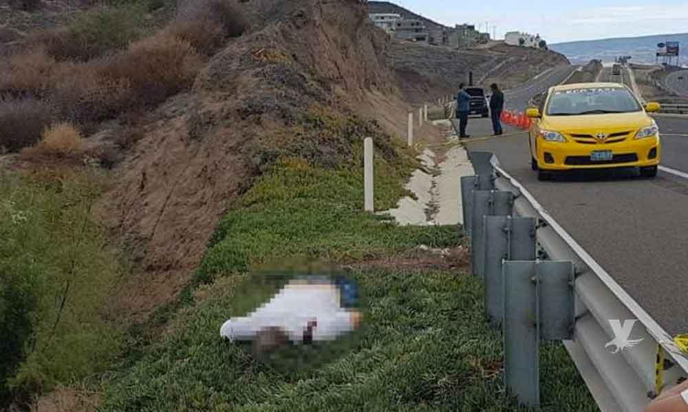 Asesinan a taxista en carretera escénica Tijuana-Rosarito