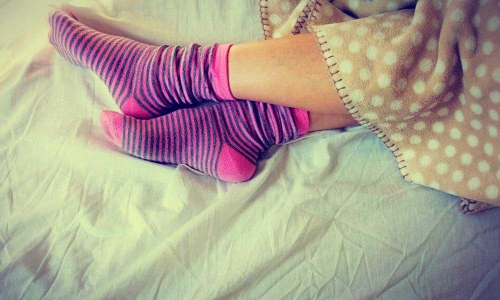 Dormir con calcetines tiene grandes beneficios para tu salud