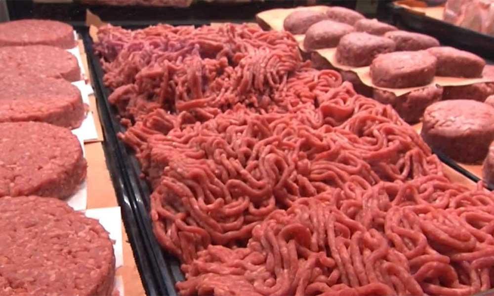 Alertan por 2.3 millones de kilos de carne molida contaminada con Salmonela