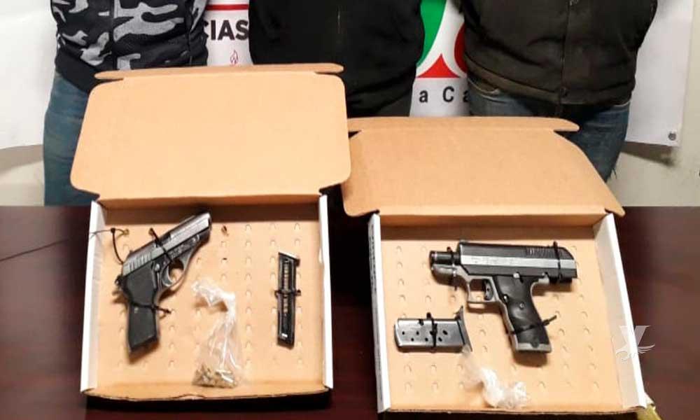 Capturan a tres sujetos en Tecate presuntamente integrantes del CJNG