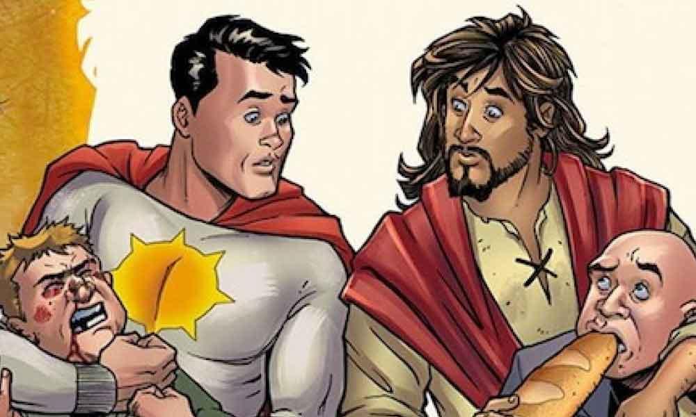 DC Comics presenta a Jesucristo como su nuevo superhéroe