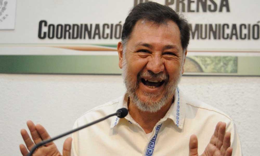 Diputado Fernandez Noroña feliz por la muerte de Martha Érika Alonso y Moreno Valle