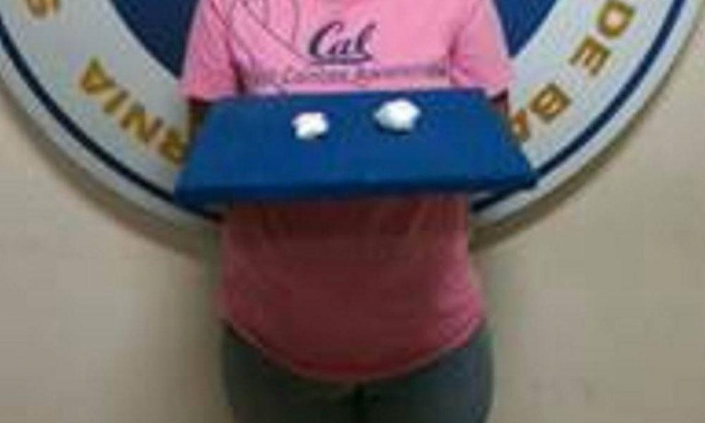 Embarazada fue detenida por intentar introducir droga al Cereso de Tijuana
